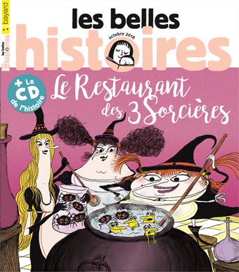 Couverture du magazine Les Belles Histoires, n°550, octobre 2018