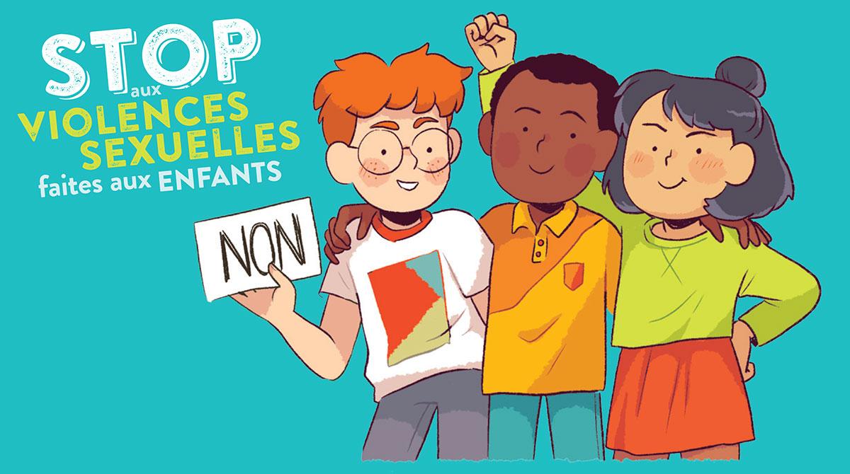 """Livret """"Stop aux violences sexuelles faites aux enfants"""""""
