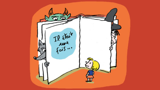 Pourquoi lire des histoires qui font peur aux enfants?