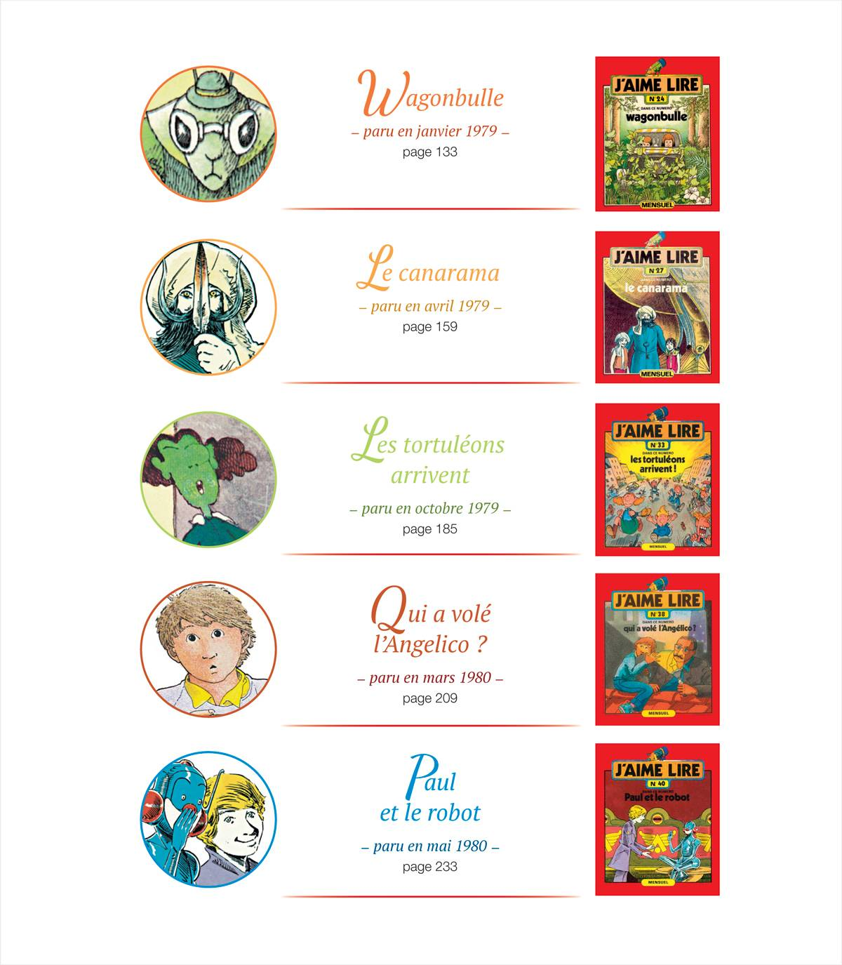 Numéro collector - Les années 1970 : 10romans J'aime lire inoubliables