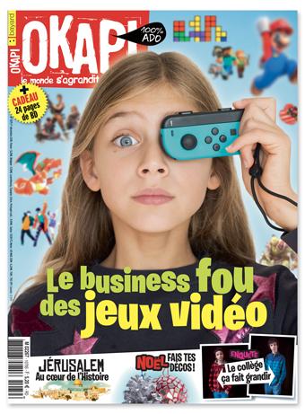 Couverture du magazine Okapi du 1er décembre