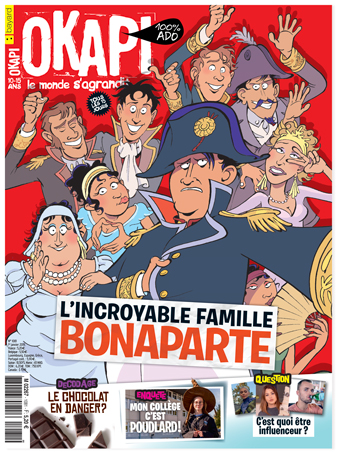 Couverture du magazine Okapi n°1081, 1er janvier 2019