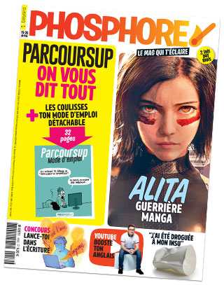 Couverture du magazine Phosphore n°459, 1er février 2019
