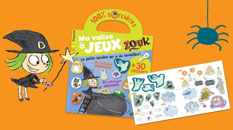 """Zouk s'invite dans le magazine """"Ma valise à jeux""""!"""