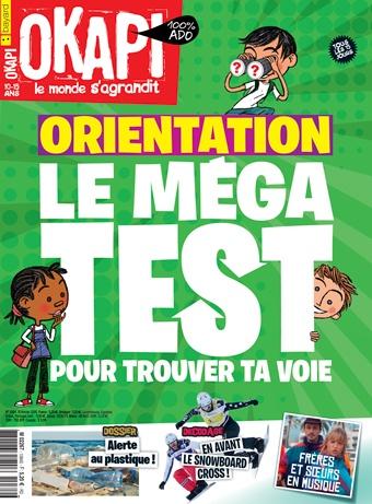 Couverture du magazine Okapi n°1084, 15 février 2019