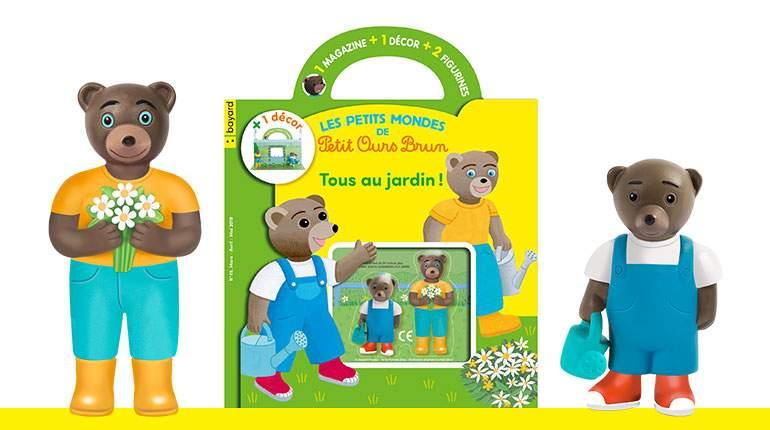 Les Petits Mondes de Petit Ours Brun : Tous au jardin !