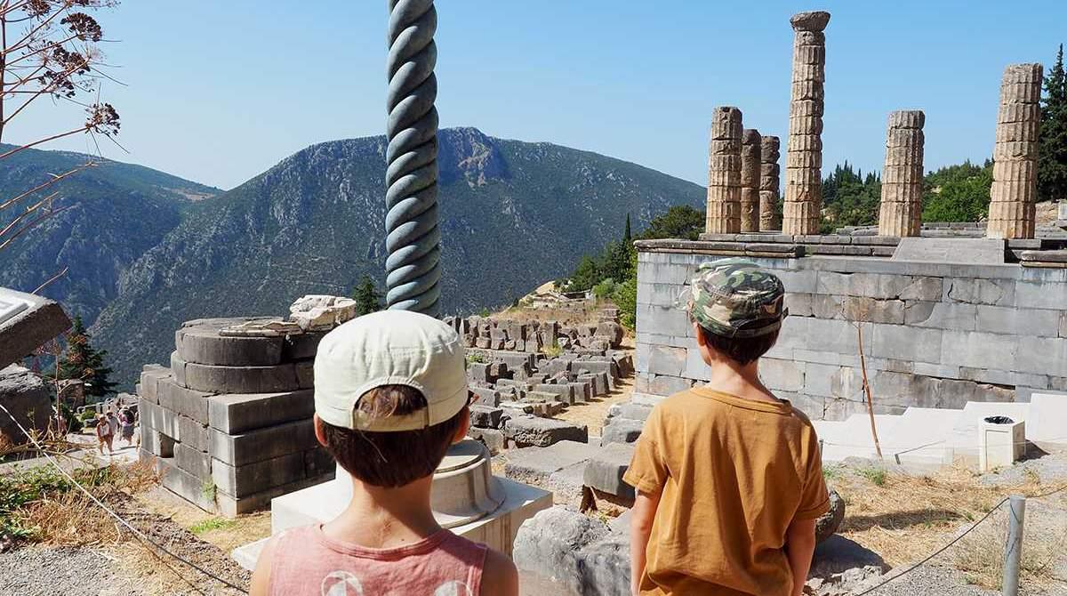 Vacances en famille du 4 au 11 juillet 2020 : à la rencontre des dieux et héros grecs