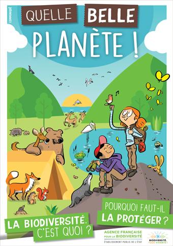 """Téléchargez le livret """"Quelle belle planète ! – La biodiversité, c'est quoi ? – Pourquoi faut-il la protéger ?"""