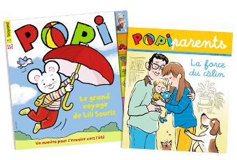 Magazine Popi n°394, juin 2019, et son supplément pour les parents