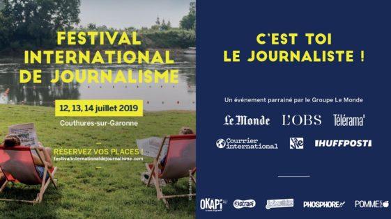 Festival international de journalisme, c'est aussi pour lesenfants!