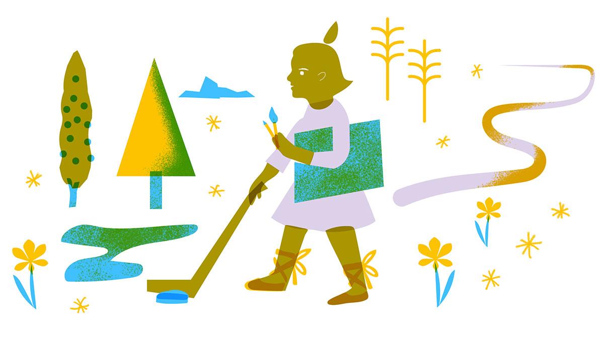 Activités extra-scolaires - illustrations Bérénice Milon