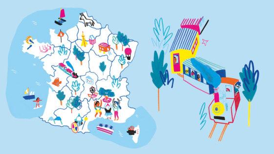 Idées de sorties en famille: le tour de France dePomme d'Api