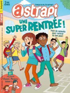 couverture du magazine Astrapi pour les 7-11ans