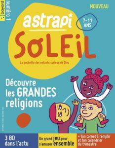 couverture du magazine Astrapi Soleil pour les 7-11ans