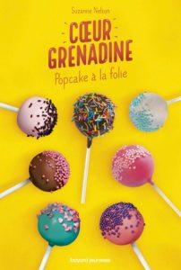 couverture du livre 'Cœur grenadine - Popcake à la folie'