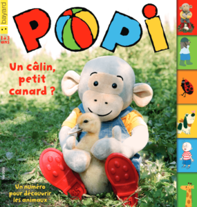 couverture magazine Popi 1-3 ans