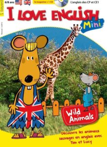 couverture magazine I Love English Mini pour les 6-8ans