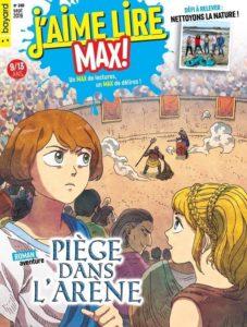 couverture du magazine J'aime lire Max pour les 9-13ans