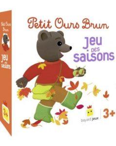 Jeu - Petit Ours Brun - Le jeu des saisons - Jeu des 4 familles
