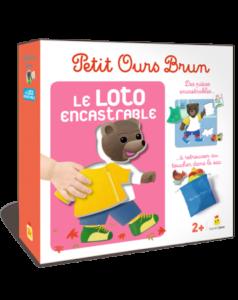 Jeu - Petit Ours Brun - Le loto encastrable