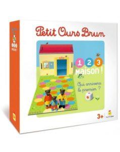 Jeu - Petit Ours Brun - 1, 2, 3 Maison Mon premier jeu de parcours