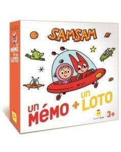 Jeu - SamSam - Un mémo + un loto