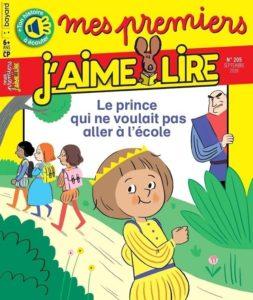 couverture du magazine Mes premiers J'aime lire pour les 6-7ans