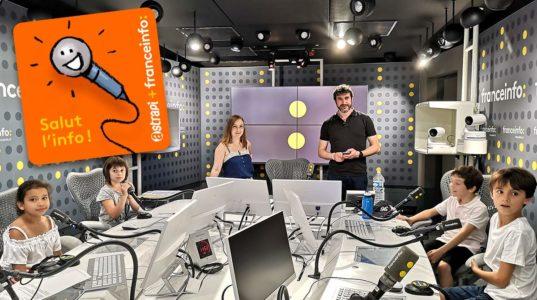 Podcast Astrapi et France Info 'Salut l'info !'