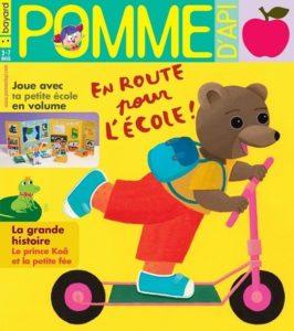 couverture du magazine Pomme d'Api pour les 3-7ans