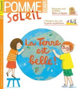 couverture du magazine Pomme d'Api Soleil pour les 3-6ans
