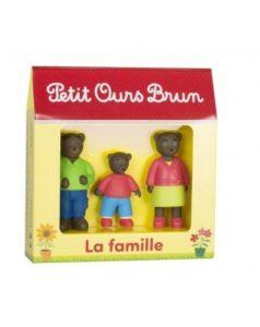 Petit Ours Brun - set de 3 figurines - La famille