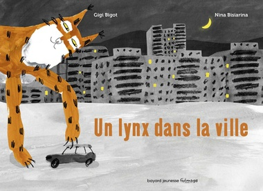 couverture du livre 'Un lynx dans la ville'