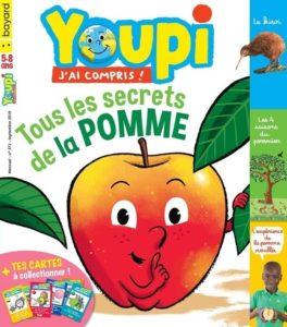 couverture du magazine Youpi pour les 5-8ans