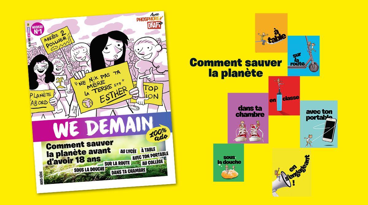 """""""We Demain"""" : comment sauver la planète avant d'avoir 18 ans?"""
