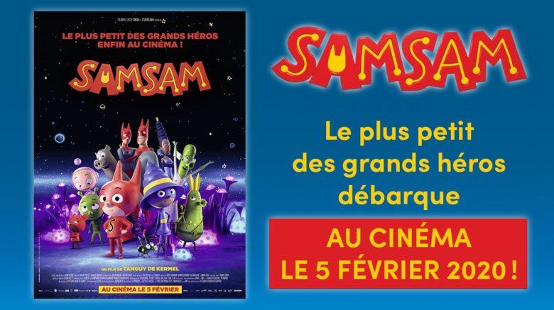 SamSam débarque au cinéma le 5février!