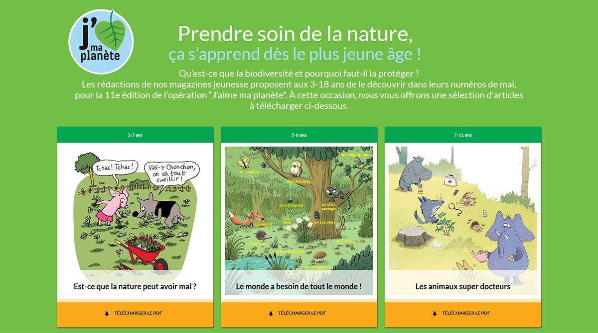 Prendre soin de la nature, ça s'apprend dès le plus jeune âge !