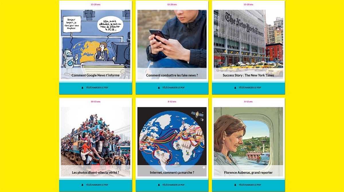 Semaine de la presse et des médias dans l'école, édition 2019
