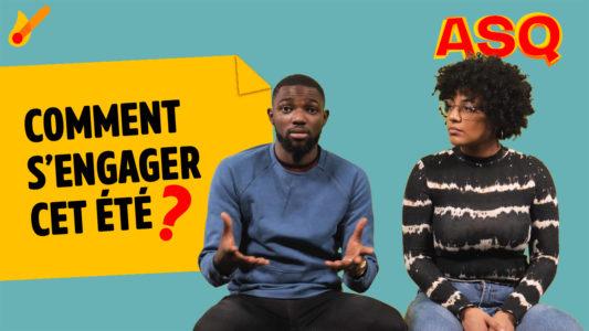 Asq. La chaine video Youtube avec les 2 youtubeurs Nadjélika et Sacko, pour le magazine Phosphore