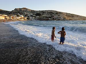 Les enfants aimeront la piscine et/ou plage après les visites.