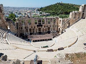 Les parenets aimeront écouter sur des sites antiques, des extraits de la mythologie s'y déroulant, par Katarina Apostolopoulou.