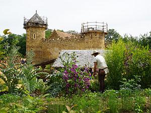 Les jardins de Guédelon