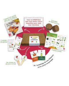 Box Kitkipouss - Petits pois et capucines ! Mon kit nature, prêt à planter