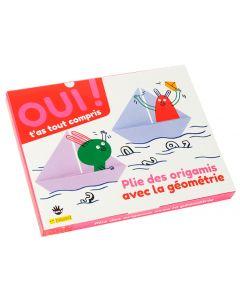 Box maths - Géométrie - Origamis Crée des origamis pour comprendre la géométrie