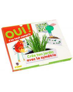 Box maths - Symétrie et jardin à la française ! Crée un jardin à la française pour comprendre la symétrie !