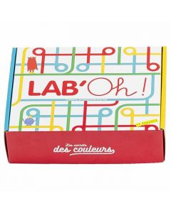 Box sciences - Les secrets des couleurs Crée un arc-en-ciel !
