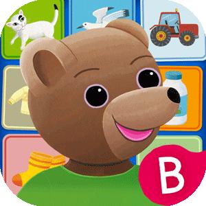 Le grand imagier bilingue de Petit Ours Brun, application pour les 2-4 ans