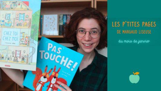Les p'tites pages de Margaud Liseuse pour Pomme d'Api