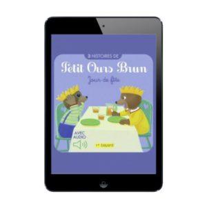 Sélection histoires numériques de Petit Ours Brun à lire et à écouter