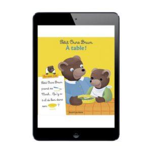 Sélection de livres numériques Petit Ours Brun, Lis avec moi