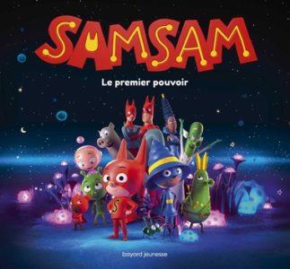 couverture du livre 'SamSam, le grand album du film'